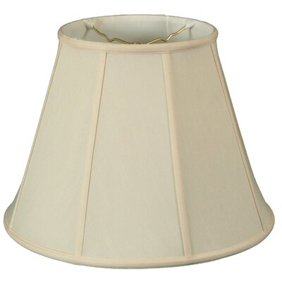 Deep 18 Silk/Shantung Empire Lamp Shade Color: Eggshell