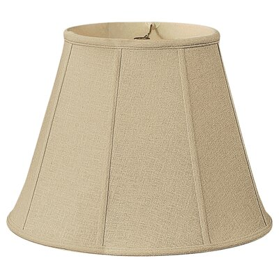 Deep 22 Silk/Shantung Empire Lamp Shade Color: Linen Beige