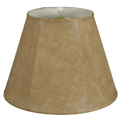 Deep 20 Silk/Shantung Empire Lamp Shade Color: Mouton