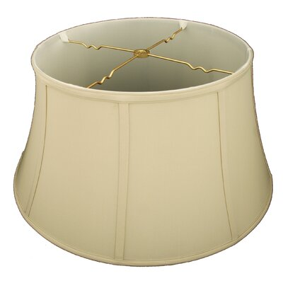 19 Silk/Shantung Bell Lamp Shade Color: Beige