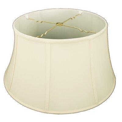 19 Silk/Shantung Bell Lamp Shade Color: Eggshell