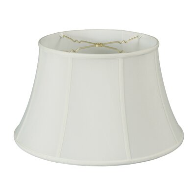 19 Silk/Shantung Bell Lamp Shade Color: White
