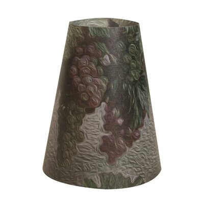 Wine Grapes Vellum Party 5 Empire Lamp Shade