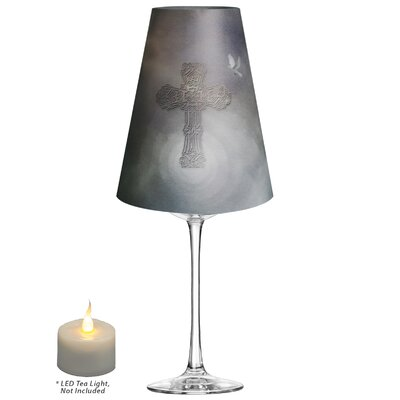 Cross and Dove Vellum Party 5 Empire Lamp Shade