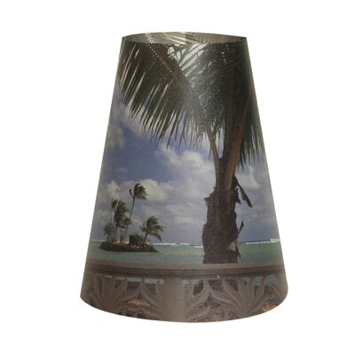 Beach Front Vellum Party 5 Empire Lamp Shade