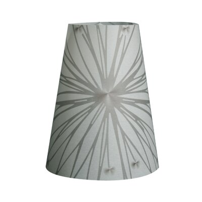 Star Burst Silhouette Vellum Party 5 Empire Lamp Shade Set Of: Set of 60