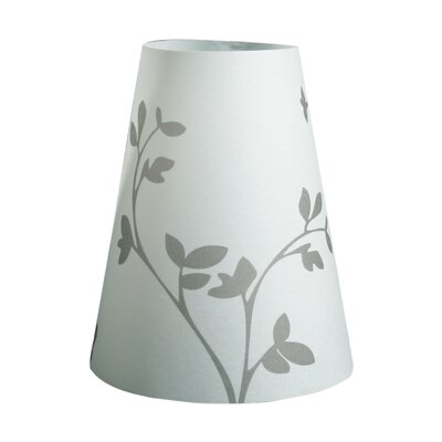 Flower Sprout Silhouette Vellum Party 5 Empire Lamp Shade Set Of: Set of 60