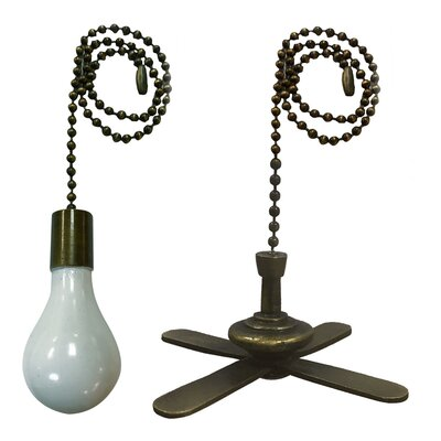 Royal Designs Fan Pull Chain Set Of: Set of 2