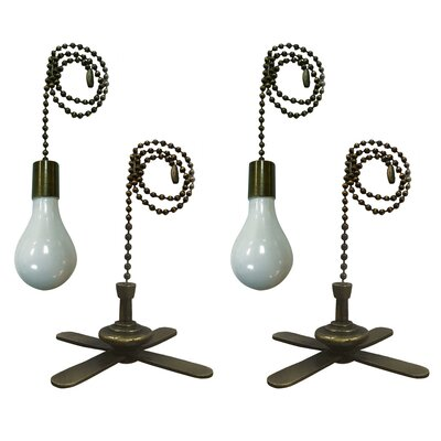 Royal Designs Fan Pull Chain Set Of: Set of 4