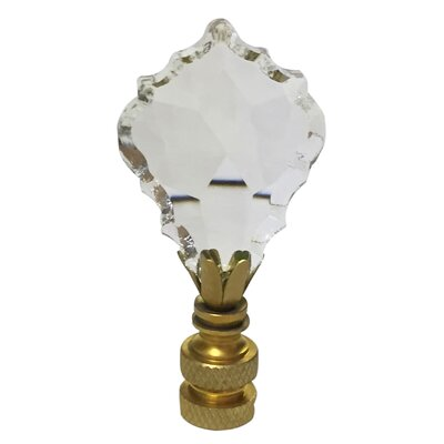 Pendalogue French Cut K9 Crystal Lamp Finial