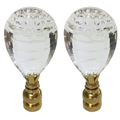 Balloon Drop K9 Crystal Lamp Finial