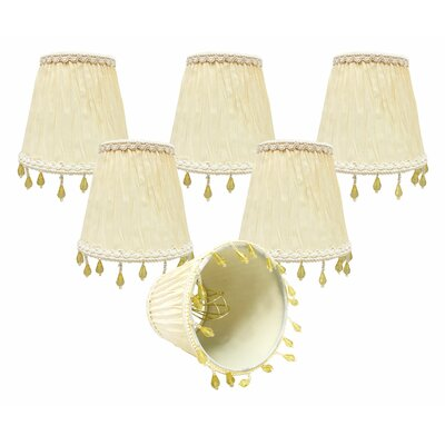5 Silk/Shantung Empire Candelabra Shade Color: Eggshell