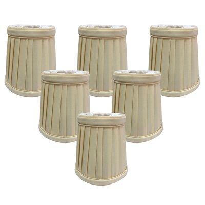4.25 Silk Empire Candelabra Shade Color: Eggshell