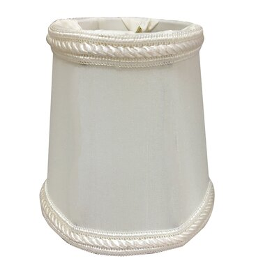 4.25 Silk Empire Candelabra Shade Color: White
