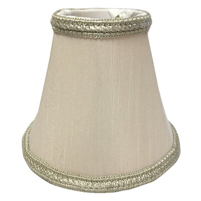 5 Silk Empire Candelabra Shade Color: Beige