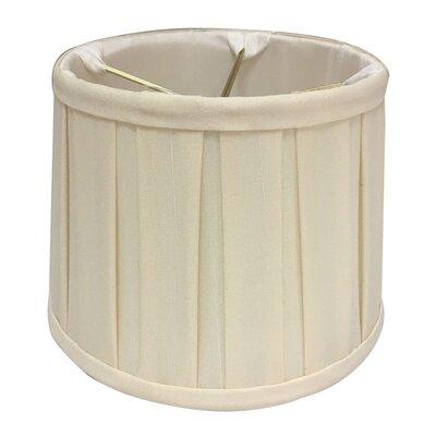 English Pleat 5 Silk Drum Candelabra Shade Color: Eggshell