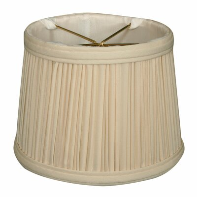 Gather Pleat 5 Silk Drum Candelabra Shade Color: Eggshell