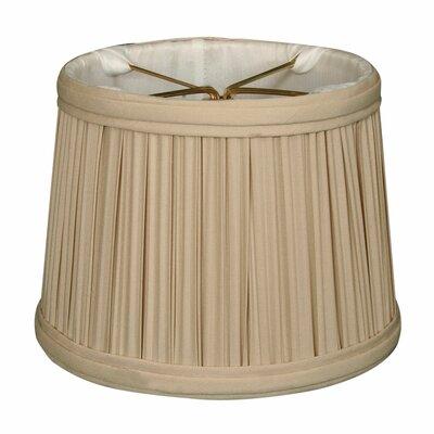 Gather Pleat 6 Silk Drum Candelabra Shade Color: Beige