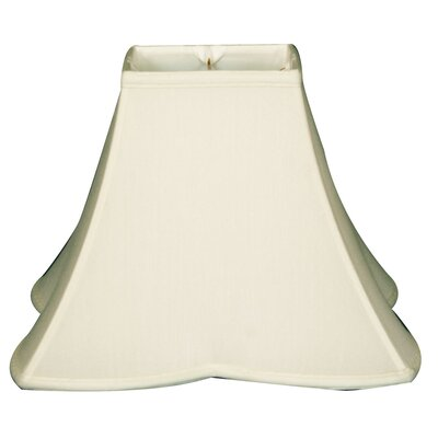 Timeless 10 Silk Novelty Lamp Shade Color: White/Off White