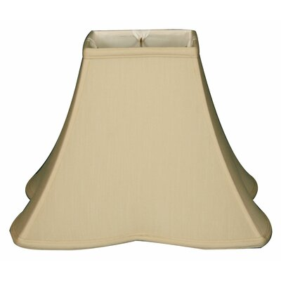Timeless 10 Silk Novelty Lamp Shade Color: Beige/Gold