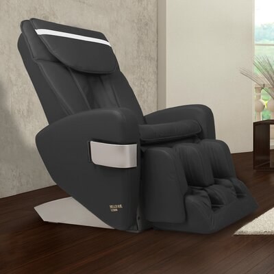 Bellevue Edition Zero Gravity Massage Chair Upholstery Color: Black