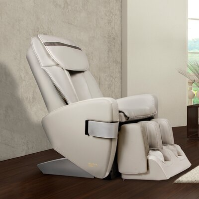 Bellevue Edition Zero Gravity Massage Chair Upholstery Color: Ivory