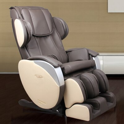 Santa Monica Edition Zero Gravity Massage Chair Upholstery: Espresso