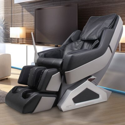 Manhattan Edition Zero Gravity Massage Chair Upholstery: Black