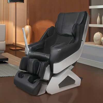 Arcadia Edition Zero Gravity Massage Chair Upholstery: Black