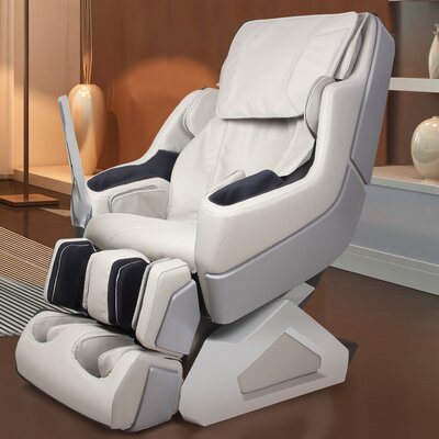 Arcadia Edition Zero Gravity Massage Chair Upholstery: Ivory