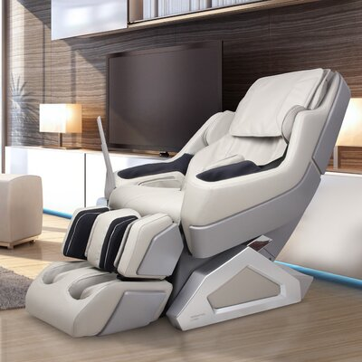 Manhattan Edition Zero Gravity Massage Chair Upholstery: Ivory