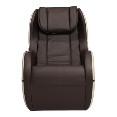 Palo Alto Edition Leather Massage Chair Upholstery: Espresso
