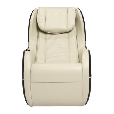 Palo Alto Edition Leather Massage Chair Upholstery: Ivory