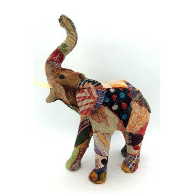 Vintage Sari Elephant Figurine 94572