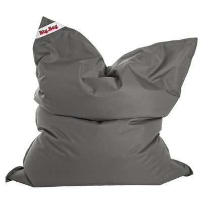 Big Bag Brava Bean Bag Chair Upholstery: Grey