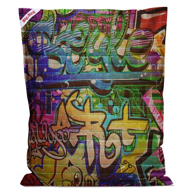 Graffiti Big Bean Bag Chair