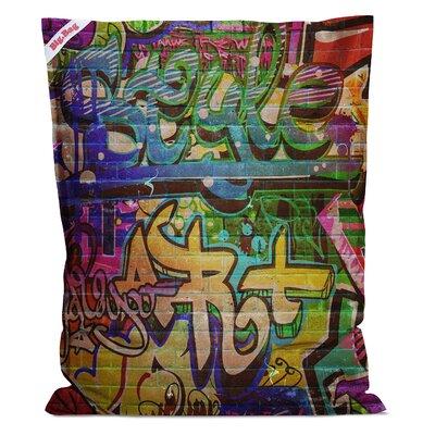 Graffiti Big Bean Bag Chair