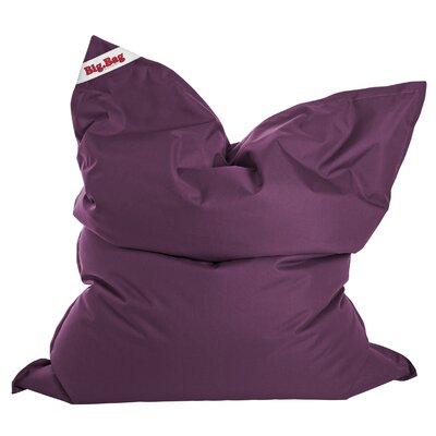 Big Bag Brava Bean Bag Chair Upholstery: Purple