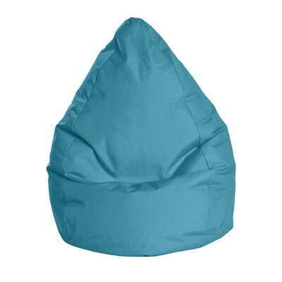 Brava Bean Bag Chair Upholstery: Turquoise