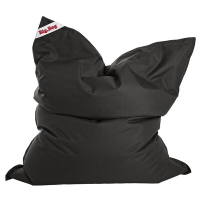 Big Bag Brava Bean Bag Chair Upholstery: Black