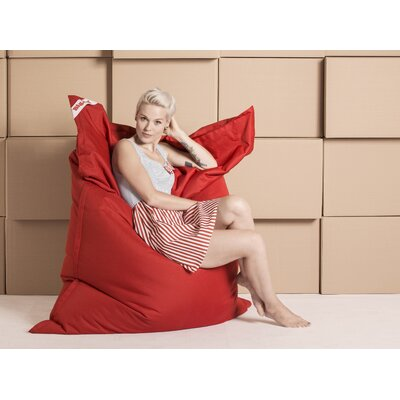 Big Bag Brava Bean Bag Chair Upholstery: Red