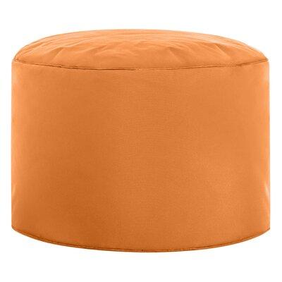 Dotcom Brava Pouf Upholstery: Orange