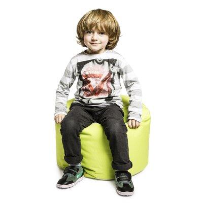 Dotcom Brava Pouf Upholstery: Lime Green