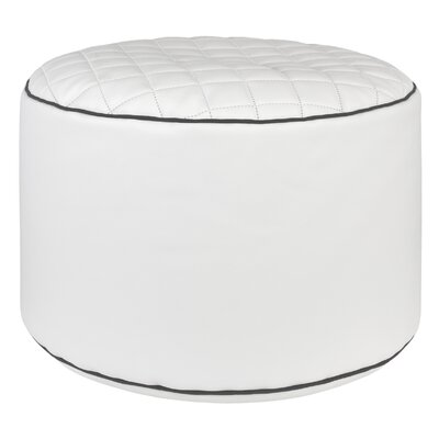 Belwood Pouf Upholstery: White