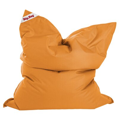 Big Bag Brava Bean Bag Chair Upholstery: Orange