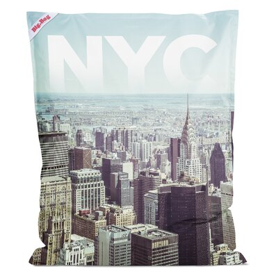 NYC Bean Bag Chair Color: Multi