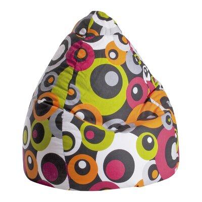 Malibu Bean Bag Chair Upholstery: Orange