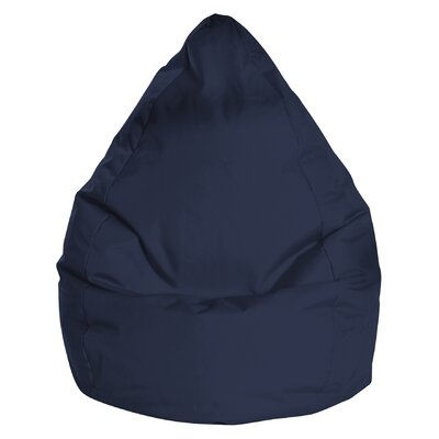 Brava Bean Bag Chair Color: Navy