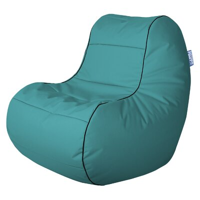 Chillybean Scuba Bean Bag Chair Color: Turquoise