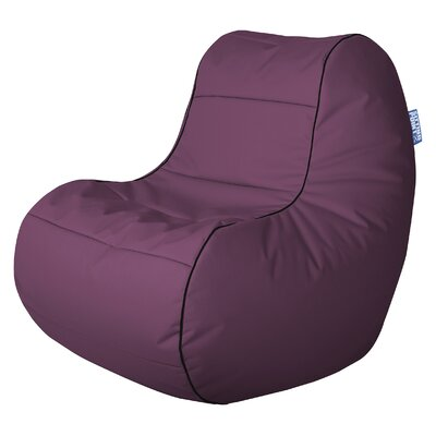 Chillybean Scuba Bean Bag Chair Color: Aubergine